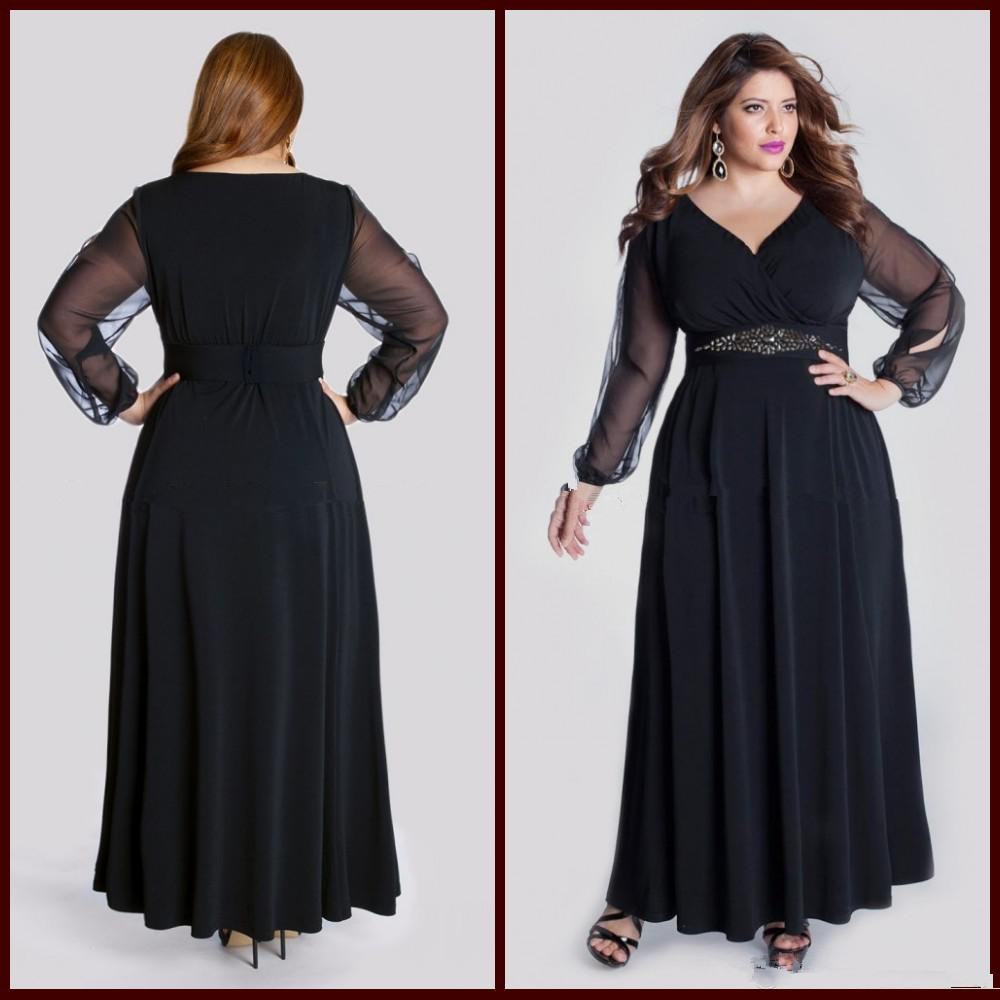 A variety of dresses: Long black evening dress size 6