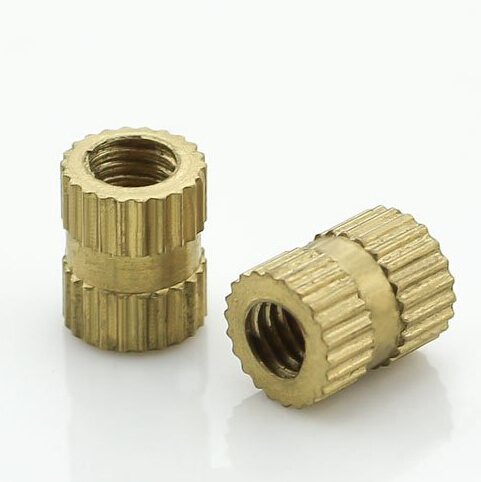 Injection of copper nut insert embedded parts flower female knurled M3 * 5 4<br><br>Aliexpress