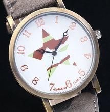 2015 HOT Selling NEW Fashion Women s Ladies Quartz Watch Five Star Shape PU Strap Round