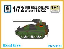 S-modelo PS720116 1/72 Wiesel 1 MK20
