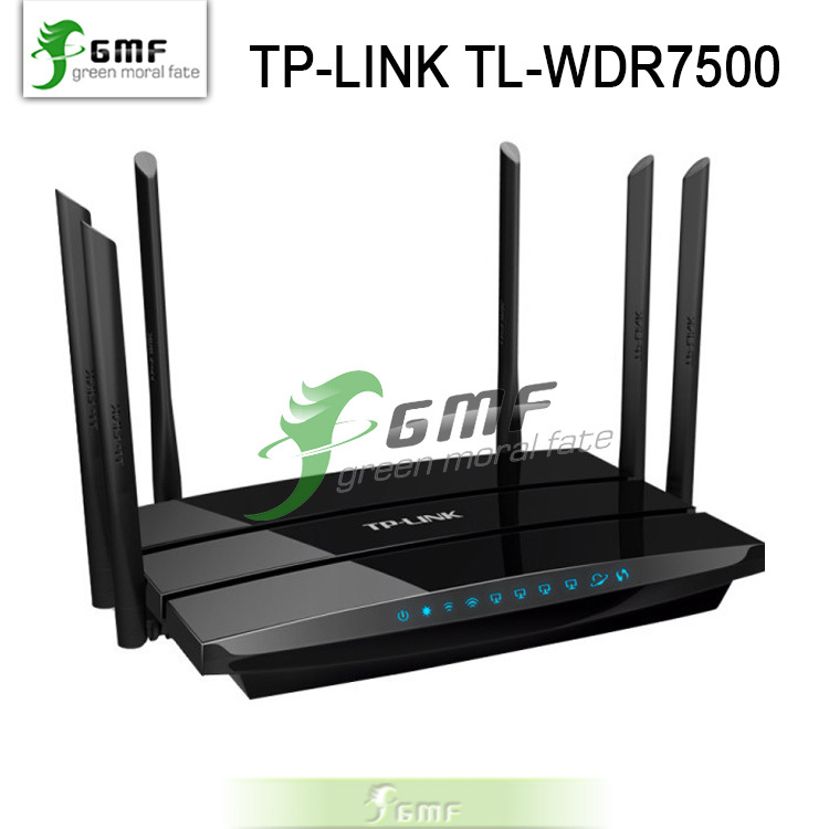 1750Mbps Gigabit WI FI Roteador Wireless Router TP LINK Archer C7 Dual Band WIFI Repeater WDR7500 2 USB Ports WIFI Booster(China (Mainland))