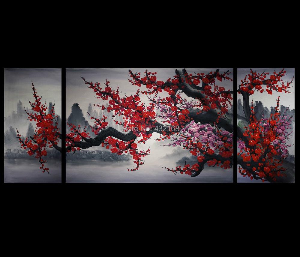 Modern Abstract Art Painting Canvas Wall Art Framed