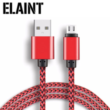 Buy ELIANT Metal Nylon Braid Micro USB Data Syne Cable Samsung Xiaomi Meizu Huawei HTC USB Cable Alloy Data Charging Cable for $1.59 in AliExpress store