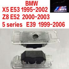 2x LED Car Door Courtesy Laser Projector Logo Ghost Shadow Light for BMW E39 E53 x5 Z8 E52