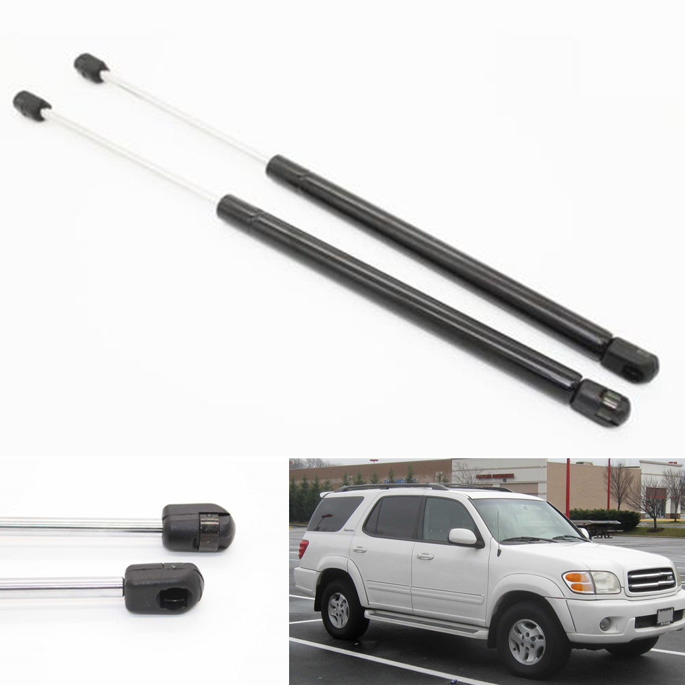 2pcs font b Auto b font Tailgate Hatch Boot Lift Supports Shock Gas Struts for Toyota