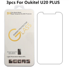 Buy 3pcs Oukitel U20 PLUS 5.5 inch Tempered Glass Film Ultra-thin Front Screen Protector Oukitel U20/U20 PLUS Safe Package for $1.23 in AliExpress store