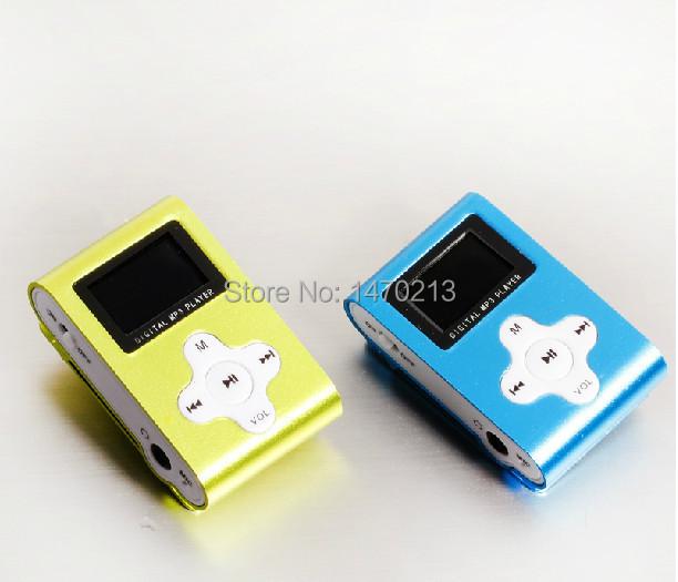 free shipping 4G MP3 player Lovely mini type sports running belt clip radio SPORT walkman MP3 players Portable Audio(China (Mainland))