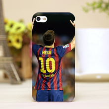 pz0018-2-9 messi Messi Design Customized cellphone transparent cover cases for iphone 4 5 5c 5s 6 6plus Hard Shell