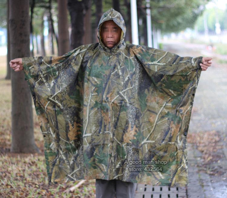 дождевик плащ для охоты и рыбалки