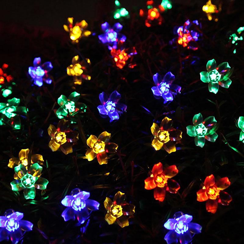christmas tree lights buy cheap solar powered christmas tree lights. Black Bedroom Furniture Sets. Home Design Ideas