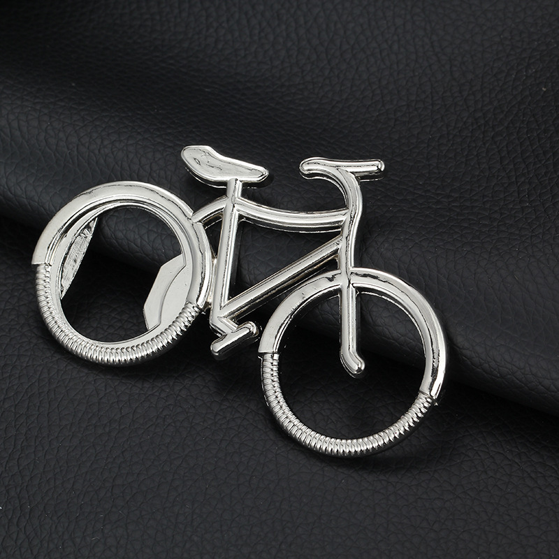 new creative bicycle bottle opener keychain metal bike key chain boy and girl key ring trendy. Black Bedroom Furniture Sets. Home Design Ideas