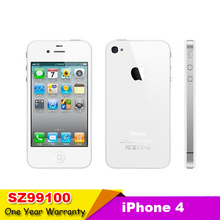 Iphone 4 100% Factory Original Unlocked Apple Iphone 4 Cell phone 3.5 Screen 8GB/16GB/32GB GPS WIFI Dual Camera used phone(China (Mainland))