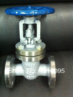 Flange type Z41H-16C forged steel gate valve for steam DN15-DN100 PN16(China (Mainland))