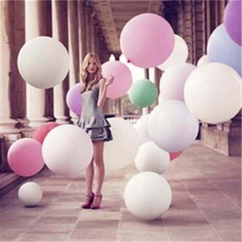 Hot Sale 1pcs/lot globos Super Large 70cm Matte Latex balloon Float air balls inflatable weddingparty decoration Kids Toys Ball