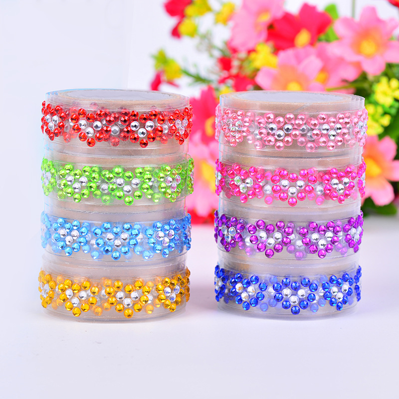 DIY Candy Colors Love masonry tape Manufacturers direct supply Color tape Decorative DIY adhesive tape Stationery tape<br><br>Aliexpress