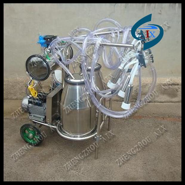 cow milking machine vacuum type also can use diesel power - Zhengzhou Aix Machinery Equipment Co., Ltd. store