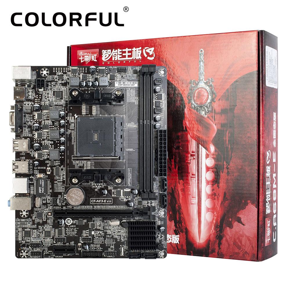 Colorful C.A68M-E Plus V15 A68H FM2/FM2+ Socket SATA 6Gb/s USB 3 Gaming DDR3 mATX Desktop Computer Mainboard Motherboard(China (Mainland))