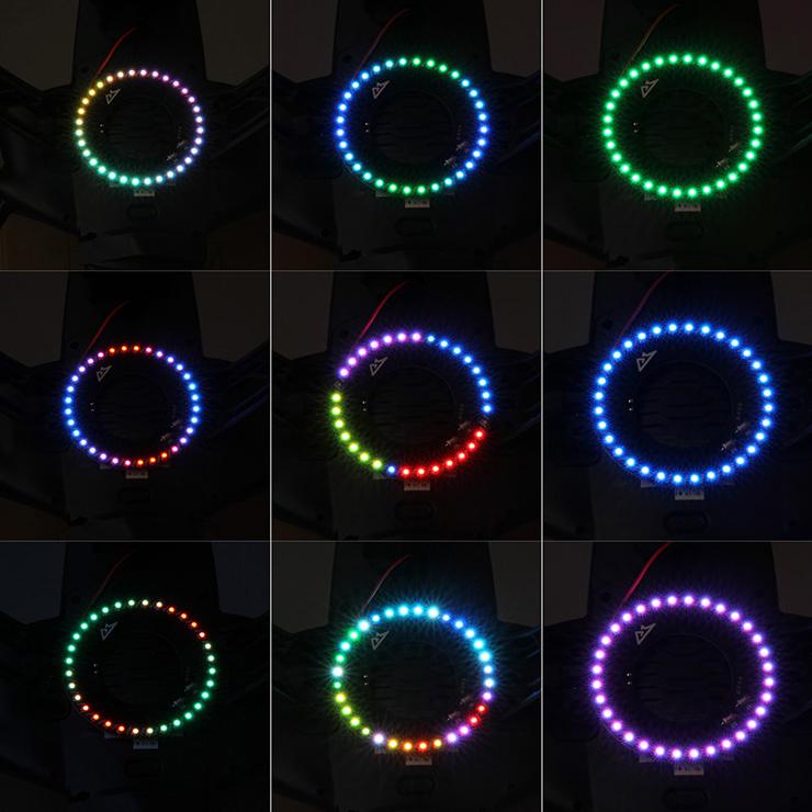 YUNEEC Q500 Night Light LED Decorated Light Annular Light Navigation Light<br><br>Aliexpress
