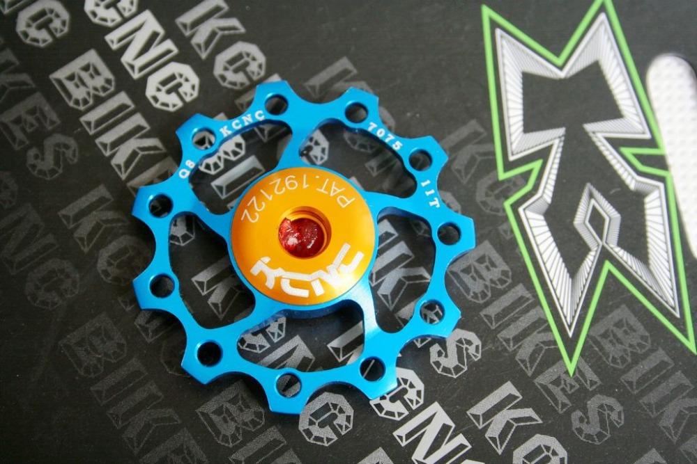 KCNC Alluminum Alloy bicycle Rear Derailleur Pulley Jockey Wheel /Road/MTB 11T 9g guide rolloer - bikepro store