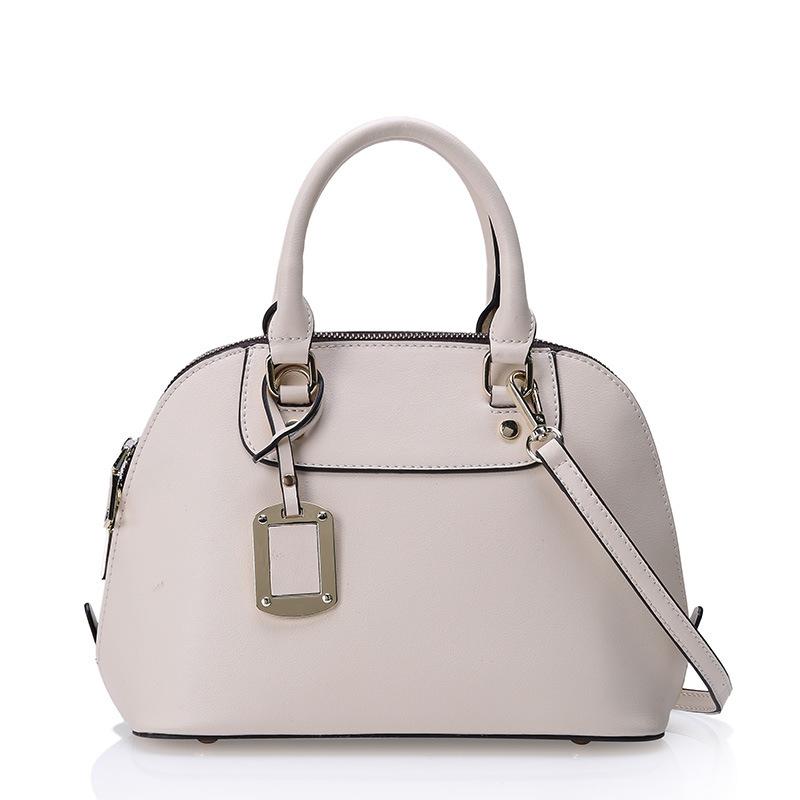 2015 new women genuine leather handbags brand famous women tote or crossbody bag100% real leather bag shell women handbag(China (Mainland))