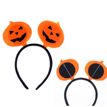 Pumpkin Party Headband Hair Accessory Halloween Costume Women Girls Party Decor(China (Mainland))