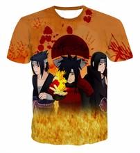 Buy Classic Anime Naruto T-Shirt Uchiha Sasuke/Madara/Itachi 3D t shirt Men Women Summer Hipster t shirts Harajuku tee shirts tops for $11.99 in AliExpress store