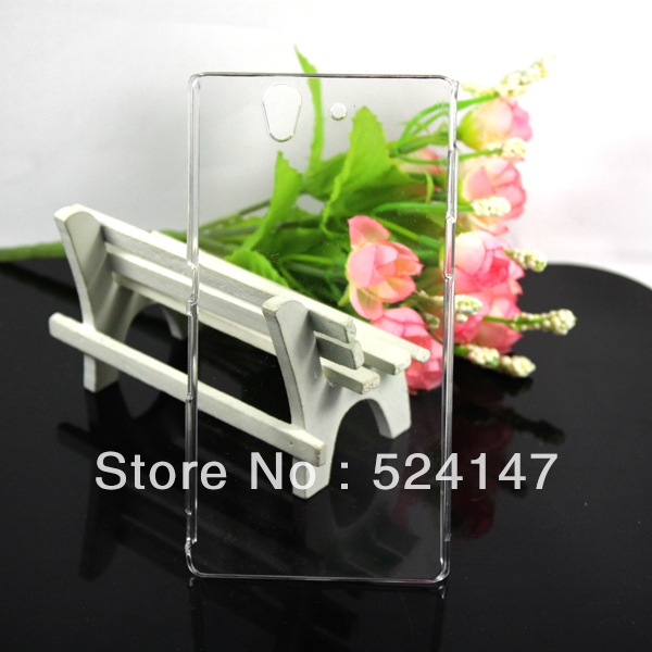 2 pieces/lot Clear Transparent Ultra Thin Hard Case Cover Sony Ericsson Xperia Z LT36H - Holiday sale store