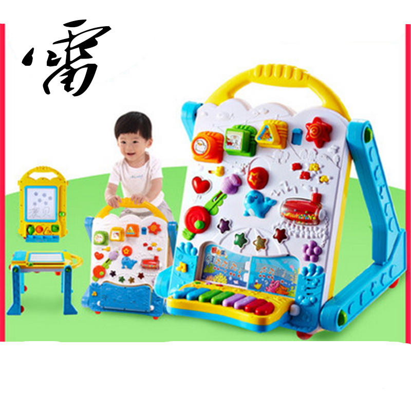 CROWNTOYS 2016 Child Electronic Multifunctional Learning Table Baby Walker Baby Toy table Children Most Love 103<br><br>Aliexpress