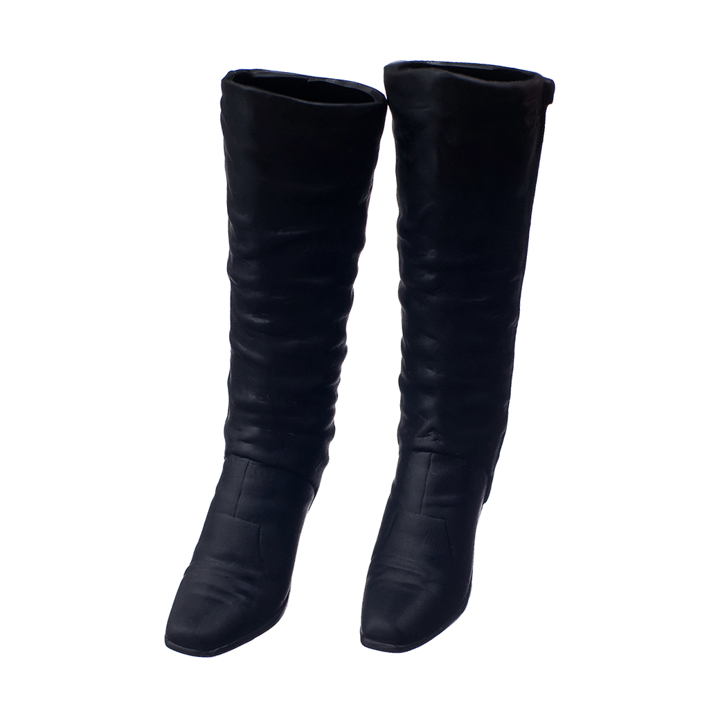 1:6 Scale High Heel Shoes High Boots Costume Outfits for 12 inch Phicen PH / Hot Toys HT / JIAOU / CY Girls Action Figure