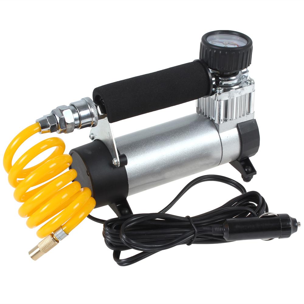 YD-3035 Portable Super Flow 12V 140PSI Auto Tire Inflator / Car Air Pump Car Pumps Car Air Compressor 12V Has Many Use<br><br>Aliexpress