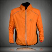 Tour de France Cycling Coat Mens Winter Windproof Road Bike Cycle Clothing Long Sleeve Jersey Wind Rain Waterproof Jacket Orange(China (Mainland))