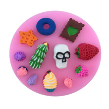 Shape 3D Cake Decorating Tool Fondant Mold Gumpaste Decoration Sugarcraft - OEM Baking World store