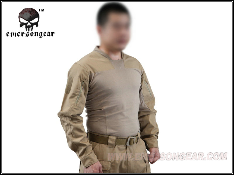 Emerson Tactical shirt Arc Style LEAF Talos LT Halfshell combat operation EM8583 military army Tshirt coyote brown