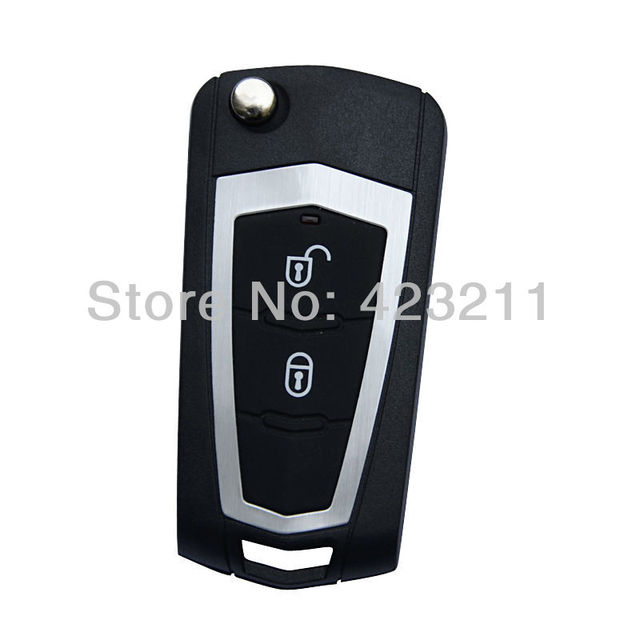 FLIP Folding Remote Key Fob Shell Case For Hyundai Santa Fe 2Buttons OT0020