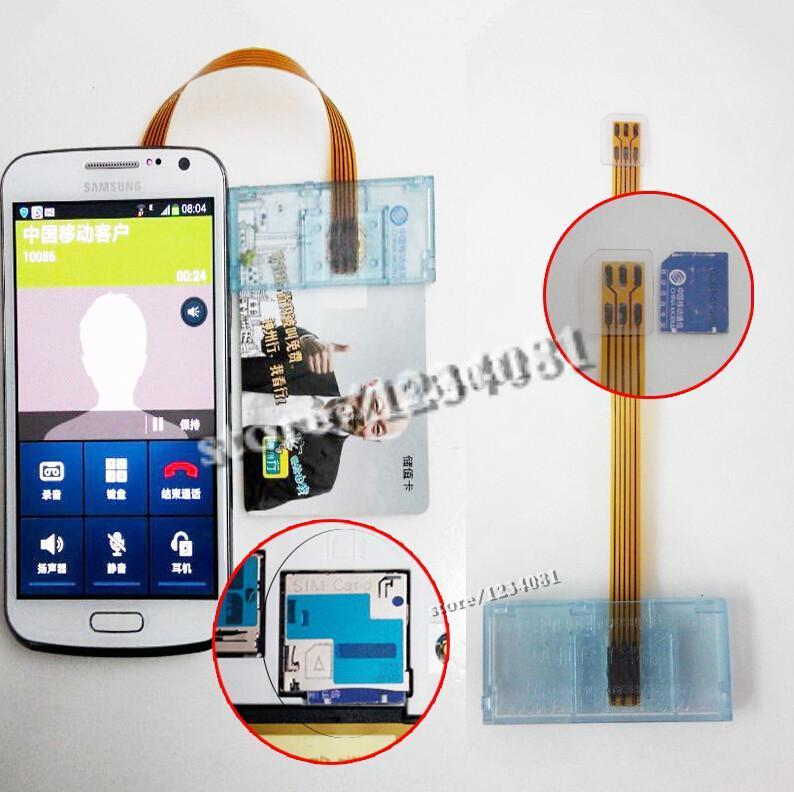 Sale Micro sim card size card adapter opposite direction sim card kilogram-calorie device gsm cdma wcdma card reader for Samsung(China (Mainland))