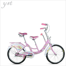 Bicycle 22 inch bicycle Parent - child double Cycling with children Road Cycling tour Outdoor leisure bike,RJ0990(China (Mainland))