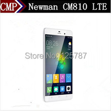 DHL Fast Delivery Newman CM810 Dual 4G LTE Cell Phone Octa Core YunOS 3.0 5.5 Inch 1920X1080 2GB RAM 16GB ROM 13.0MP Fingerprint(China (Mainland))