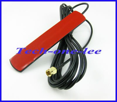2dbi - 3dbi 824-960Mhz 1710-1990Mhz GSM antenna SMA plug male connector Aerial Free shipping