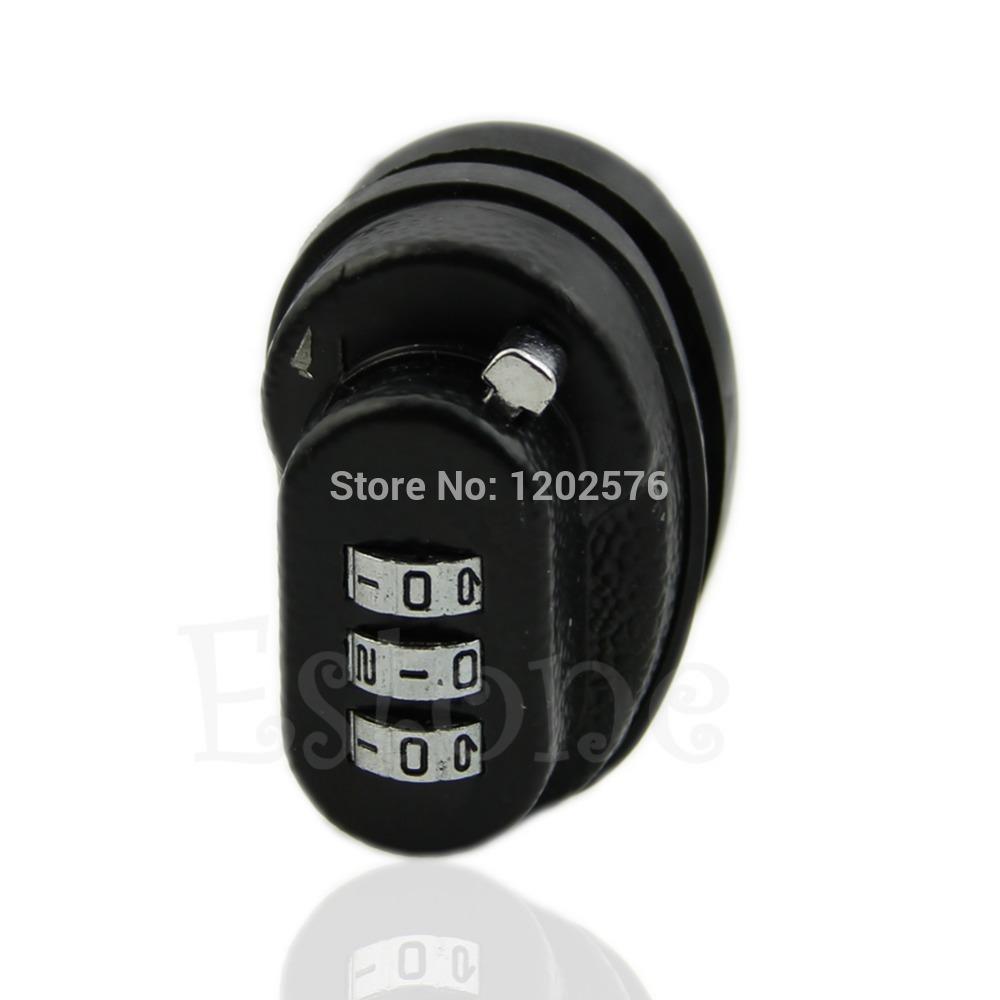 Free Shipping New 3-Dial Trigger Password Lock Gun Key For Firearms Pistol Rifle(China (Mainland))