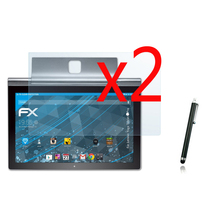 2x films + 2x cloth +1x Stylus, LCD Clear Screen Protector Transparent Film Guards For Lenovo Yoga Tablet 2 Pro 13.3 1380F 13.3″