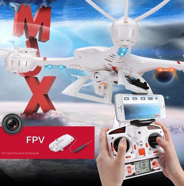 Бесплатная доставка MJX X400 RC Drone 2.4 Г 4CH 6-осевой Дистанционного Управления RTF Вертолет Quadcopter С C4005 HD Камера FPV