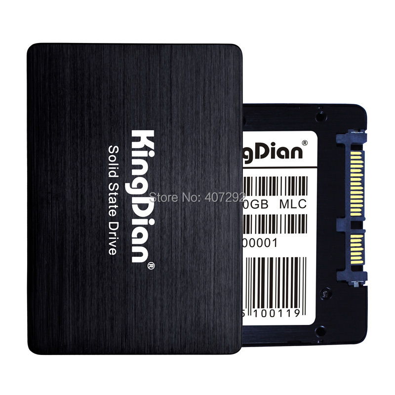 Kingdian brand 2.5 SATA3 SSD 60GB 64GB MLC solid state disk drive for laptop computer<br><br>Aliexpress