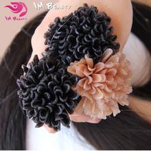 """100g 8""""-30"""" Malaysian Virgin Hair Straight Remy Malaysian Keratin Hair Pre Bonded Nail Tip /U-tip Fusion Human Hair Extensions()"""