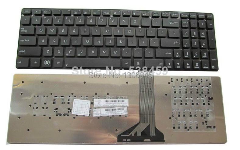 US New Keyboard For ASUS K55 K55A K55N K55V K55VJ K55VM K55VS K55XI Without Frame<br><br>Aliexpress
