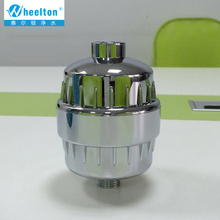 In-line bathroom Shower Filter bathing water purifier water treatment Health softener Chlorine Removal Free Shipping