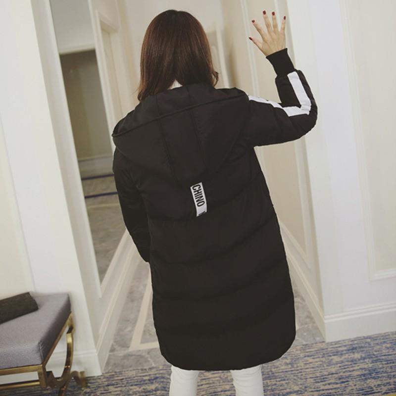 Скидки на Плюс Размер Женщин Новая Мода Зимнее Пальто Женские Ватные Хлопка куртка Теплый Парки С Капюшоном женская Пуховая Куртка Повседневная Пальто Для женщины