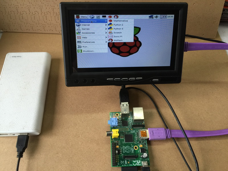 2019 Wholesale Full New 7 Inch Raspberry Pi Ips Lcd With