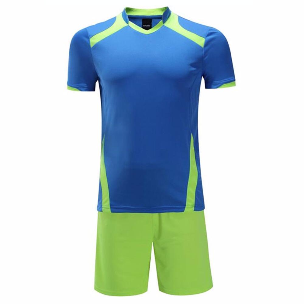 2016 New Design Football Jerseys Suit Men Boys Soccer Training Suits Football Jerseys Customization Football Kits Uniforms(China (Mainland))