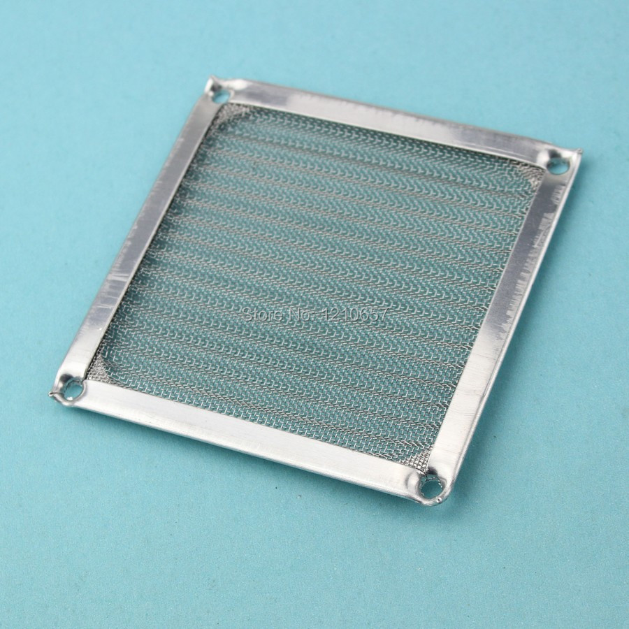 50 Pieces lot 90mm PC Computer Fan Cooling Dustproof Dust Filter Case fr Aluminum Grill Guard(China (Mainland))