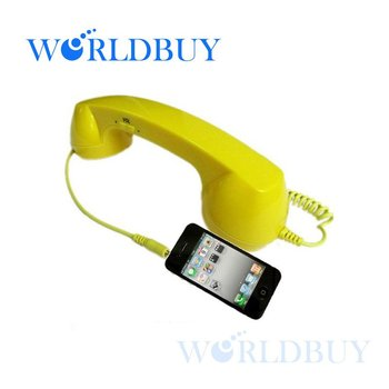 High Quality Retro Telephone Handset Handheld Receiver for Apple iPhone 4G 4S Mobile Phone Free Shipping UPS DHL HKPAM CPAM #2